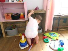 Aménager son espace Montessori à la maison avec un bébé facilement