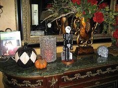 A sneak peek at our Halloween Home. ♥