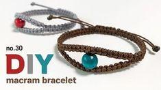 Macrame Necklace, Macrame Bracelets, Handmade Bracelets, Bracelet Patterns, Friendship Bracelets, Jewelry Design, Jewelry Making, Beads, Earrings