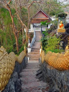 Temple in Luang Prabang by johan.risselborn, via Flickr
