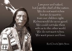 Native American Chief Sitting Bull Quotes. See more.  13243875_1751196918429732_2582714515557573026_o.jpg (1400×1000)