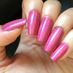 Pink Flames - Too Fancy Lacquer.
