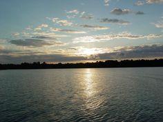 Sunrise on Eagle Lake on the Eagle River Chain of Lakes in Eagle River, WI