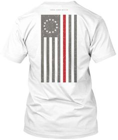 For true Patriot Firefighters! Wear your Firefighter pride and show your support for Firefighters. - Official Thin Line Style Apparel, printed in The USA - Relaxed Fit Tees: Preshrunk Cotton - Ta Grunt Style Shirts, Shirt Style, Maltese Cross Firefighter, Firefighter Apparel, Thin Line, Flag Shirt, Basic Tees, Usa Flag