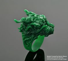 "#ZbrushyJoyería ""Anillo Dragón"", diseñado a juego con la ""Pulsera Dragón"" ( http://www.nachoriesco.com/#!en-blanco/zoom/c78g/image_v43 ) #ZbrushandJewelry ""Dragon Ring"", designed to combine with the ""Dragon Wristband"" ( http://www.nachoriesco.com/#!en-blanco/zoom/c78g/image_v43 )"