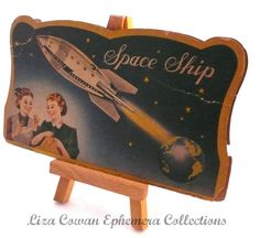 space ship needle pack. liza cowan ephemera collections via Flickr