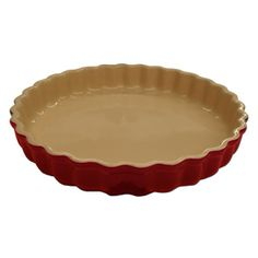Le Creuset Stoneware Tart Dish, Cherry Red - must have !