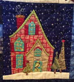 My version of Welcome to the North Pole by Piece O' Cake Designs.