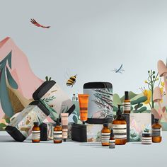 New to the Aesop range: six new Gift Kits created in honour of noted naturalists. Illustrations by Norwegian artist @benkalt. #PursuitsofPassion #AesopSkinCare