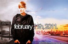 The day that the worlds best movie was released(: