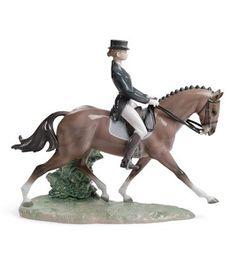 Lladro dressage figurine.