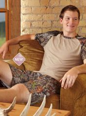 camo lounge shorts and shirt  available @ Mossy Oak Foley,Al