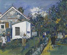 Maurice Utrillo, Maison de santé du docteur Marteau a Bourg-la-Reine