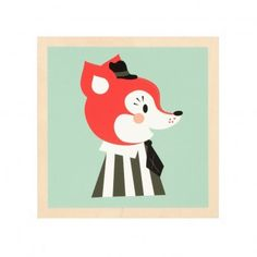 Ferm living Fox frame http://static.smallable.com/254704-thickbox/cadre-renard.jpg