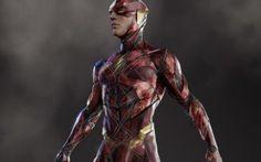 Justice League Movie Flash Concept Art