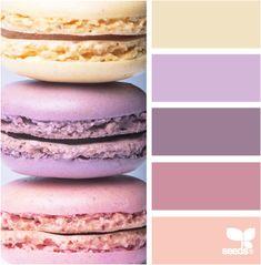 macaron hues -  so sweet.