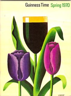 Tom Eckersley.>>Tulips ~always~ make one think of beer, right?