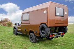 4x4 Adventure Camper with neat tyre storage