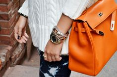 2adb7d077f89 great bag for a chic touch. Orange Bag