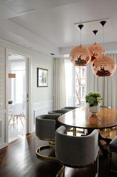 chairs, lighting