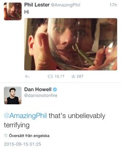 phil lester ✧ amazing phil, dan howell ✧ danisnotonfire
