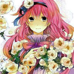 Coloured in manga comic pic