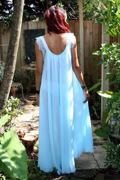 Tiffany Blue Nightgown