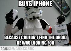 Tech Savvy Storm Trooper