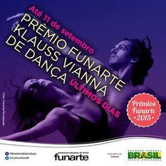 Agenda Cultural do ALTO TIETÊ: Até dia 11/09 - Últimos dias de inscrição do Prêmi...