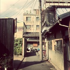 back alley, Kyoto