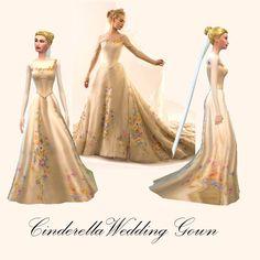 Mod The Sims - Cinderella & Prince Kit: Disney Fairytale Collection Pt. 10