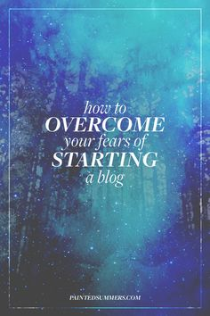"""Let's just get this out of the way: starting your own blog and/or business is no small task. There's SO much advice out there about what you """"should"""" and """"shouldn't be"""" doing, and it can be damn near impossible to make heads or tails of any of it, especially when you're first st"""