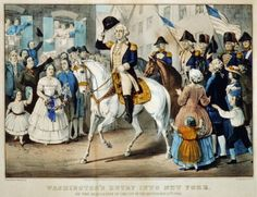 Pomp and procession have graced Inauguration Day for the past two centuries. Yet no celebration of a president-elect's acceptance of this post can match the grandeur that surrounded George Washington's trip to New York in April 1789 and the subsequent inaugural ceremony at Federal Hall.