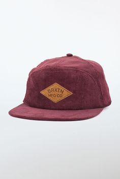 Brixton Wharf Hat - maroon  http://www.whiteboxboutique.com/products/brixton-wharf-hat-maroon