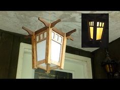 How to Build a Solar Lantern - A woodworkweb.com woodworking video - YouTube