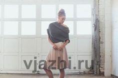 Вязание спицами для женщин безрукавки с мехом Veronica http://vjazhi.ru/jenskaya-vyazanaya-odejda-s-opisaniem/zhilety-bezrukavki/bezrukavka-veronica.html