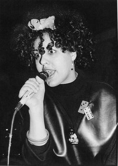 """Hear POLY STYRENE of X-RAY SPEX on Funk Gumbo Radio: http://www.live365.com/stations/sirhobson and """"Like"""" us at: https://www.facebook.com/FUNKGUMBORADIO"""
