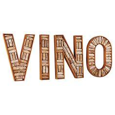 Found it at Wayfair - 4 Piece VINO Wine Cork Frame in Brown