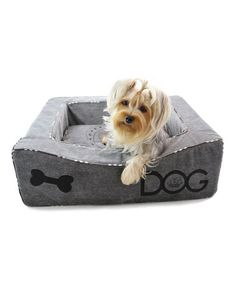 Look what I found on #zulily! Dream of Bones Dog Bed by Dogs of Glamour #zulilyfinds