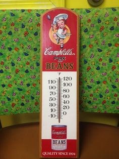 Campbell's Pork & Beans Thermometer