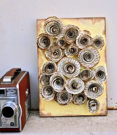 Book Paper Flower Wood - Wall Art. The more you read, the more you grow.