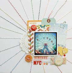 Vintage NYC by A2Kate at Studio Calico