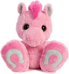 Pixie Pony Taddle Toes Plush Animal by Aurora (Front View)