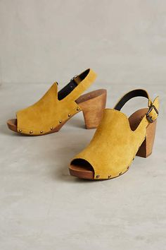 Kelsi Dagger British Clogs - anthropologie.com