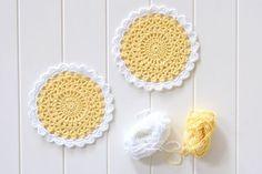crochet mandala, free pattern!..Sunny side up,mandala!