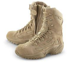 Men's Converse Waterproof Side - zip Desert Tactical Boots Desert Tan Converse. $99.99