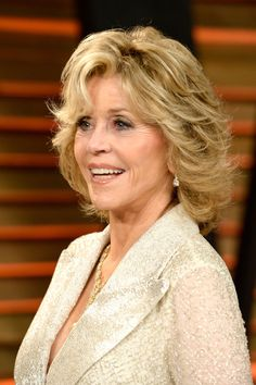 jane fonda on the view 2014 | Jane Fonda Actress Jane Fonda attends the 2014 Vanity Fair Oscar Party ...