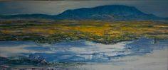 """Voëlvlei""  Oil on Canvas 50cm X 1,2 m"