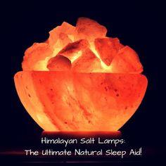 himalayan salt lamp for sleep - Natural Sleep Remedies - How to fall asleep naturally
