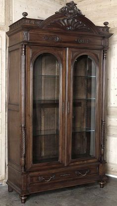 Antique French Henri II Walnut Armoire | Antique Armoires | Antique Furniture